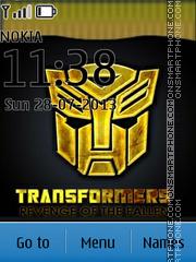 Transformers 03 theme screenshot