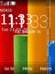 Moto X 01 theme screenshot