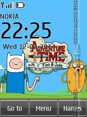 Adventure Time 02 theme screenshot