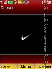 Nike theme screenshot