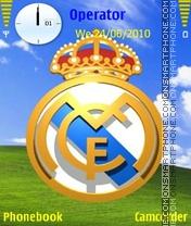 Real Madrid Color es el tema de pantalla