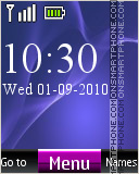 Xperia Z2 Digital theme screenshot