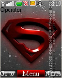 Superman Logo 02 theme screenshot