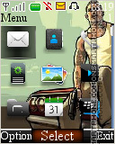 GTA Digital Clock 01 es el tema de pantalla