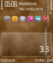 V Brown theme screenshot