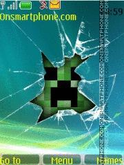 Minecraft Creeper es el tema de pantalla