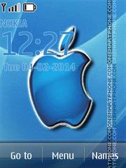 Blue Apple - MAC OS X Mavericks theme screenshot