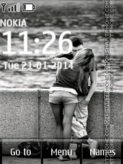 Love Couple 15 theme screenshot
