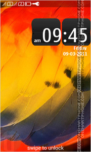 Symbian Belle 03 tema screenshot