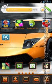 Lamborghini Murcielago 03 tema screenshot