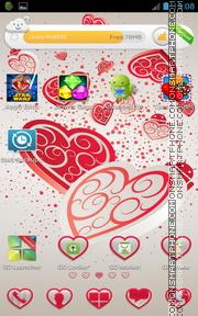 Falling Hearts es el tema de pantalla
