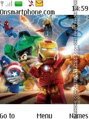 Lego Marvel Super Heroes es el tema de pantalla