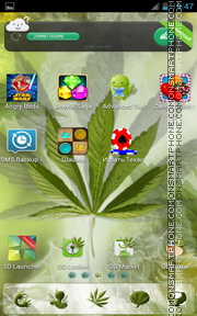 Rasta 04 theme screenshot
