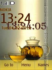 Good Morning Tea es el tema de pantalla