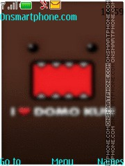 Domo-Kun theme screenshot