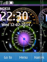 Color Clock Screen es el tema de pantalla