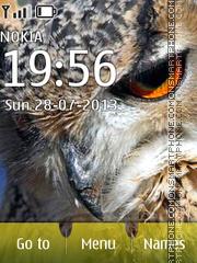 Owl wings theme screenshot