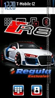 Audi R8 35 es el tema de pantalla