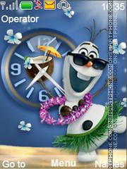 Olaf es el tema de pantalla