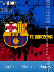 FC Barcelona 28 theme screenshot