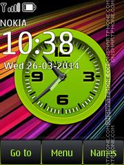 Analog Clock Bright theme screenshot