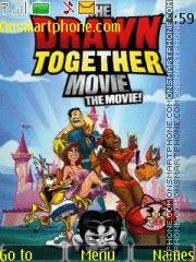Drawn Together es el tema de pantalla