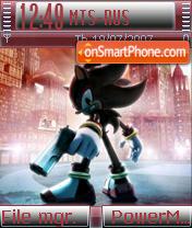 Shadow Sonic es el tema de pantalla