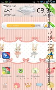 Eastern Rabbit es el tema de pantalla
