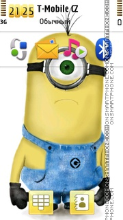 Despicable Me Mignon theme screenshot