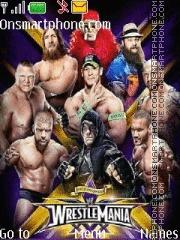 WWE Wrestlemania 30 theme screenshot