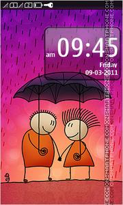 Last tango in Rain theme screenshot