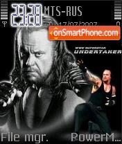 The Undertaker theme screenshot