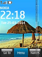Seychelles Beach theme screenshot