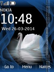 Swan 01 es el tema de pantalla