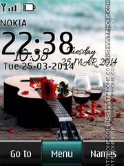 Romantic Beach Bar Digital theme screenshot
