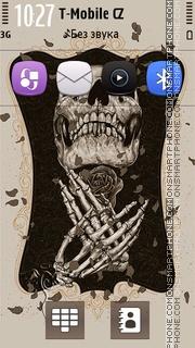 Skeleton 02 es el tema de pantalla