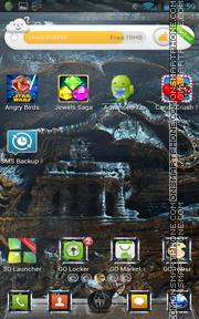 The Elder Scrolls V: Skyrim tema screenshot