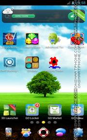 Lonely Tree 03 es el tema de pantalla