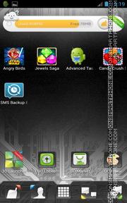 Microcircuit GO Launcher EX Theme es el tema de pantalla