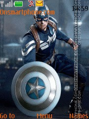 Captain America Winter Soldier theme screenshot