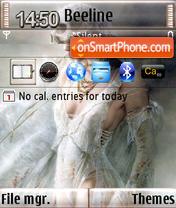 The Counter Of Time QVGA theme screenshot