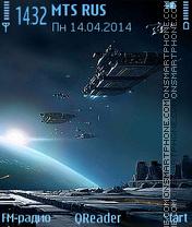 Star-Navy tema screenshot