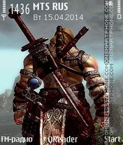 Warrior es el tema de pantalla