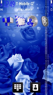 Blue Neon Roses es el tema de pantalla