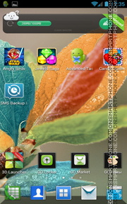 Colorful Leaves es el tema de pantalla