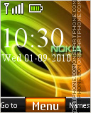 Abstract Nokia 07 tema screenshot