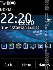 Blackberry Pro 320x240 es el tema de pantalla