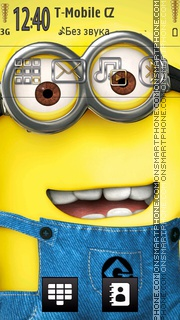 Minion theme screenshot