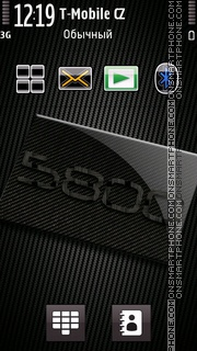 Capture d'écran Nokia 5800 XpressMusic 01 thème