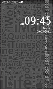 iApple tema screenshot
